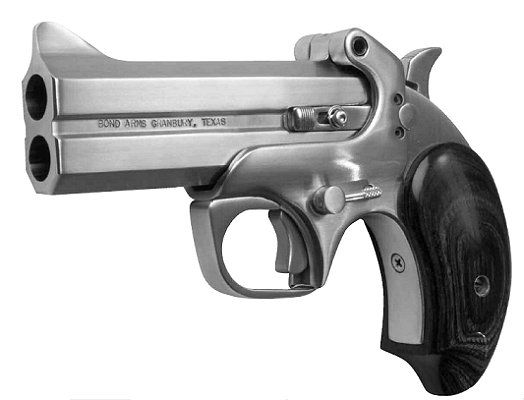 Bond Arms .410 Derringer (Not a revolver but...you get it.)