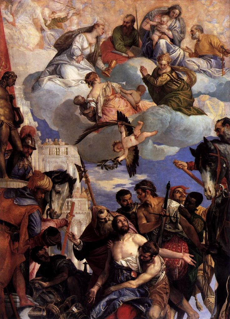 Paolo Veronese - Martyrdom of Saint George, 1564, oil on canvas