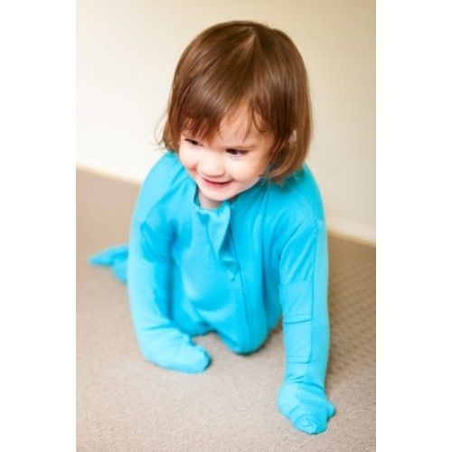 Bamboo Bubby Bag: Bamboo Baby Sleeping Bag (000-2) for babies with eczema - available at asyourchildgrows.com.au