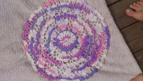 Mönster av crochet_millan