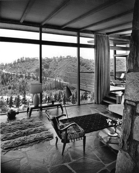 The interior of Greta Magnusson Grossman's house on Waynecrest Drive, Los Angeles (1948)