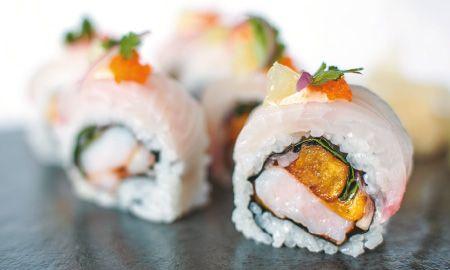 Maki de tilapia relleno de ceviche de camarón, Recetas - Edición Impresa CocinaSemana.com