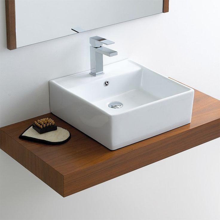 Banfield Bowl Ceramic Bathroom Counter Top Basin