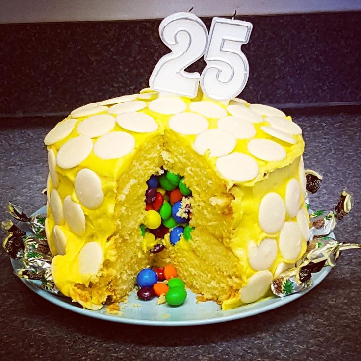 John McCall Architect celebrate 25 years in practice. cake with a sweet surprise!