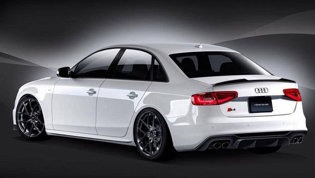 2016 Audi S4 in Ibis White