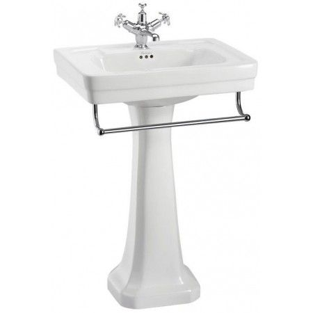 ington Regal Pedestal - White. Regal pedestals are higher providing a more comfortable user experience.<br><br> - Finishes:White<br> - Product Type: Trad