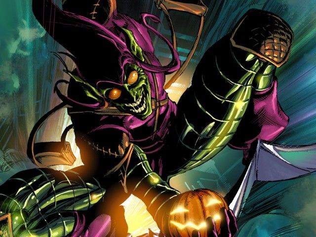 Top 10 Best Comic Book Villains - Toptenz.net///Green Goblin