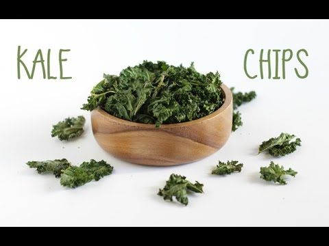 RECEITA chips de couve | kale chips RECIPE - YouTube