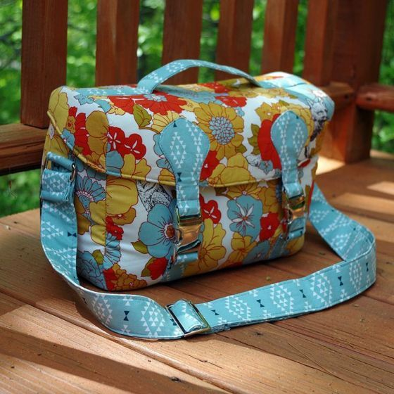 The Camille Camera Bag - PDF Sewing Pattern from Swoon