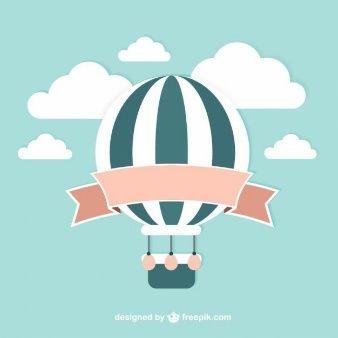 Vector balão do vintage