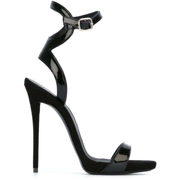 0b5e62c0449 Giuseppe Zanotti Design Strappy Sandals (11 335 ZAR) ❤ liked on Polyvore  featuring shoes