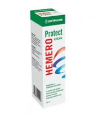Hemero protect е крема за олеснување на проблемите со хемороиди. Што содржи кремата Hemero protect? Кремата Hemero protect како активни компоненти содржи бета-глукан (Beta glucan), пантенол (d-panthenol), екстракт од камилица (chamomilla recutita extract), вазелин (Petrolatum), парафин (Parafinum liquidum) и алантоин. Како дејствува кремата Hemero protect? Активните состојки во кремата Hemero protect ги намалуваат болките и воспалението и го поттикнуваат зацелувањето кај надворешни и…