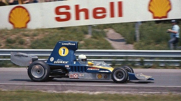 Brian Redman in the Lola T332 at Mosport in June 1975. © Don Markle 2007