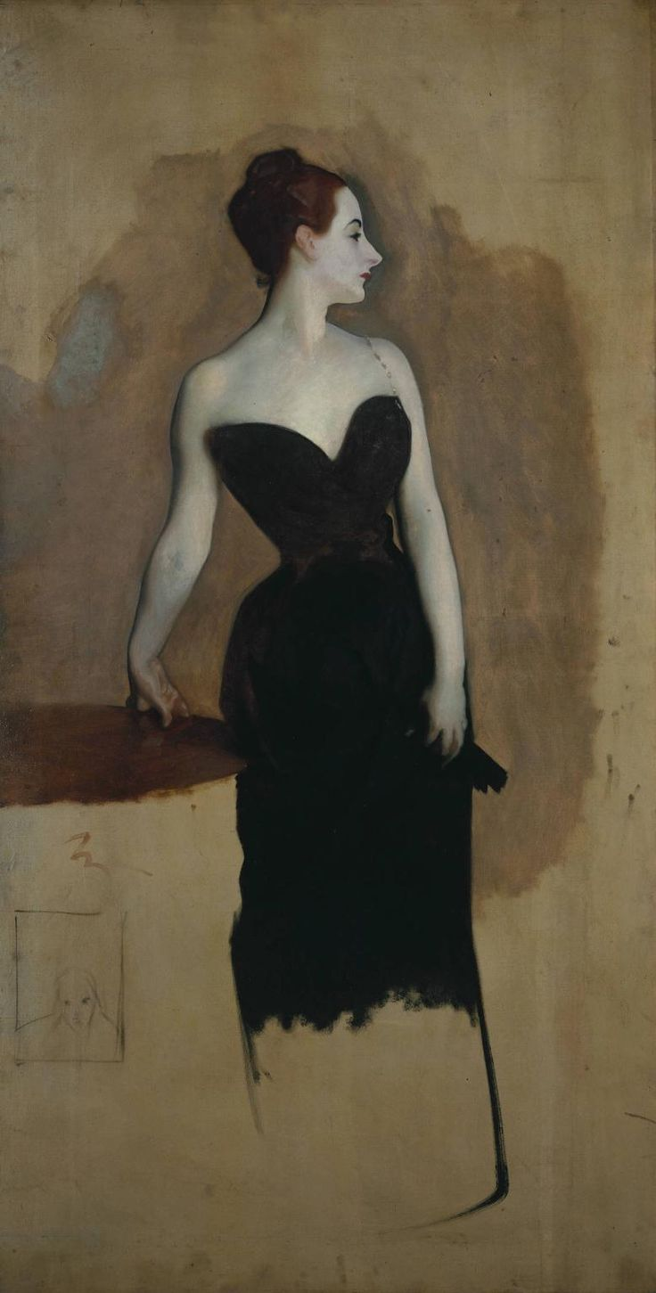Study of Mme Gautreau by John Singer Sargent c1884 - Portrait of Madame X - Wikipedia, the free encyclopedia