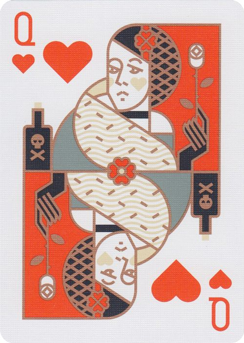 - About - Photos Patriotic playing cards inspired by American history. Within this unique deck of cards discover iconography of colonial America and patriotic symbols of peace, prosperity, and potenti