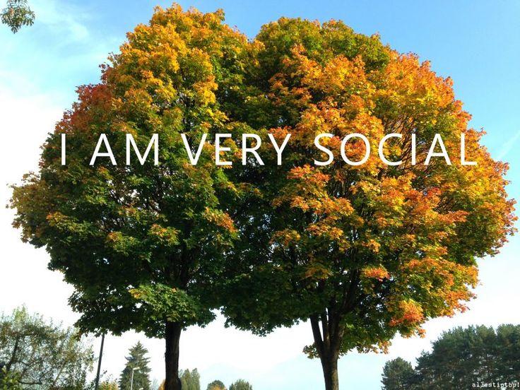 NUOVO POST: Di socialità e amicizia: sono un essere molto sociale