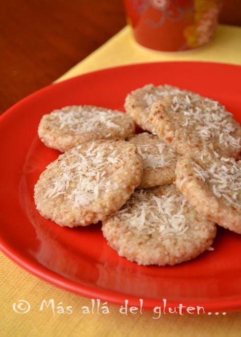 Más allá del gluten...: Galletas de Coco sin Hornear (Receta SCD, GFCFSF, Vegana, RAW)