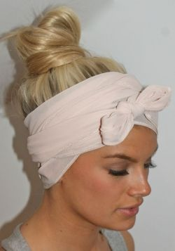 head scarf.