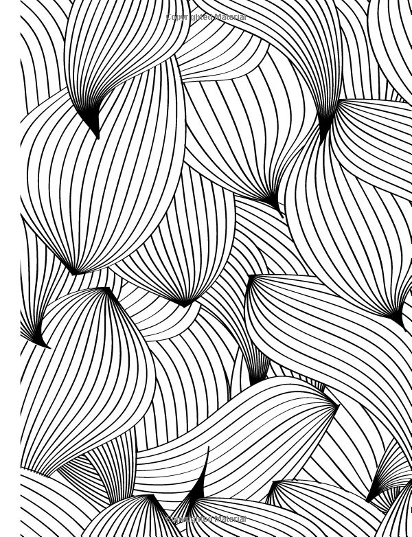 Really RELAXING Colouring Book 1 Playing With Patterns