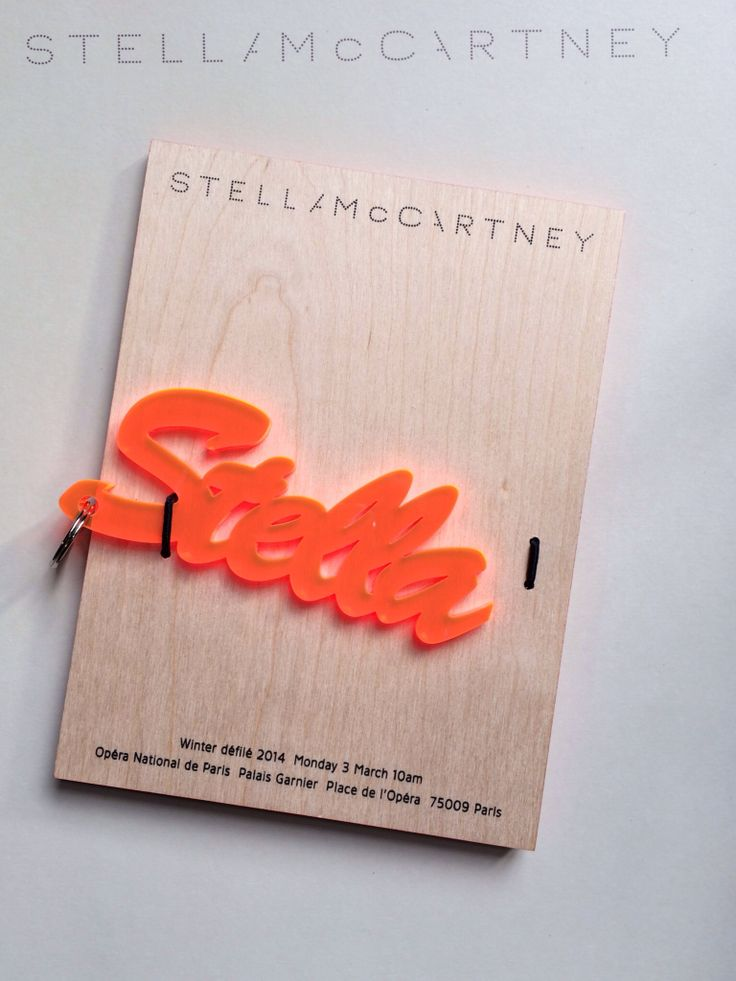 invitation letter for judging an event%0A  stellamccartney invitation  pinpfw  pfw