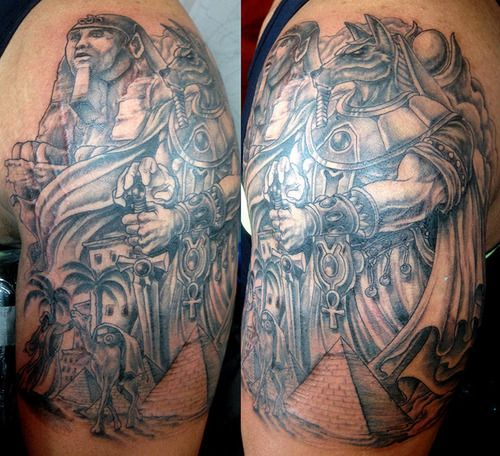 53 best images about tattoo on pinterest egypt eye of for Arm mural tattoos