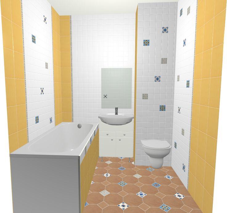 Отличное интерьерное решение для небольшой ванной комнаты. Светлые цвета коллекций плитки Керама Марацци Флора и Капри зрительно увеличивают помещение, дарят радостные эмоции. Стоимость проекта - 44500 руб. Автор идеи дизайнер Мустафаева Елена. Фирменный салон KERAMA MARAZZI г. Долгопрудный, Лихачевское шоссе, д.1, корп.4, тел.: 8(498)705-5108.