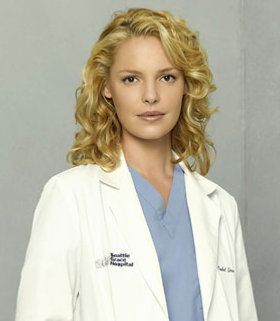"Katherine Heigl, Dr. Isobel ""Izzy"" Stevens of Grey's Anatomy."