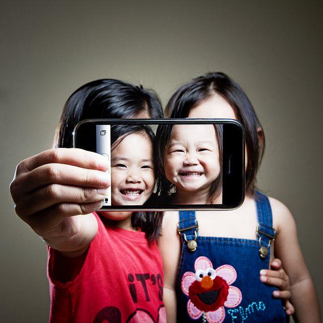 Mini Selfie #crianças #fofura