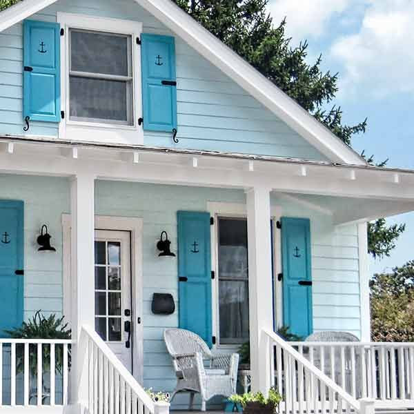 Curb appeal boosts for every budget white trim paint for Cottage style interior trim
