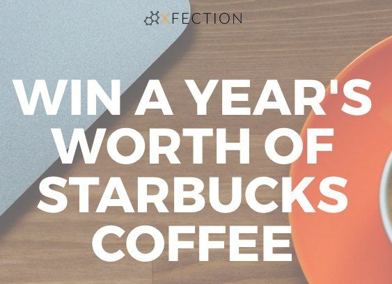 Choice of Starbucks coffee for one year, Pourfection Energy Enhancing Coffee Creamer for one year, YETI coffee thermos, Young Camel Portable Coffee Maker, and $50 Starbucks gift. Over $700.00 value!