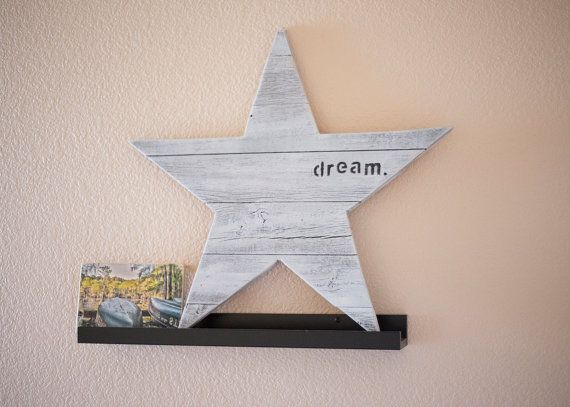 RusticReclaimed Wood Dream Star for Mantel by KindCreationsCoOp  $20 www.etsy.com/shop/kindcreationscoop