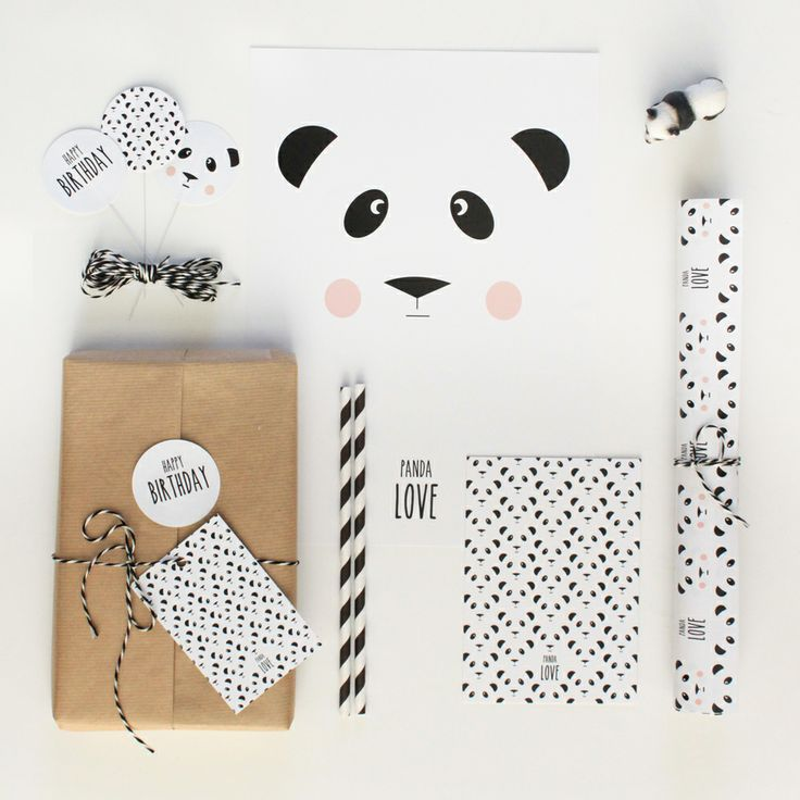 panda party stuff lepetitbiscuit #design #stationery