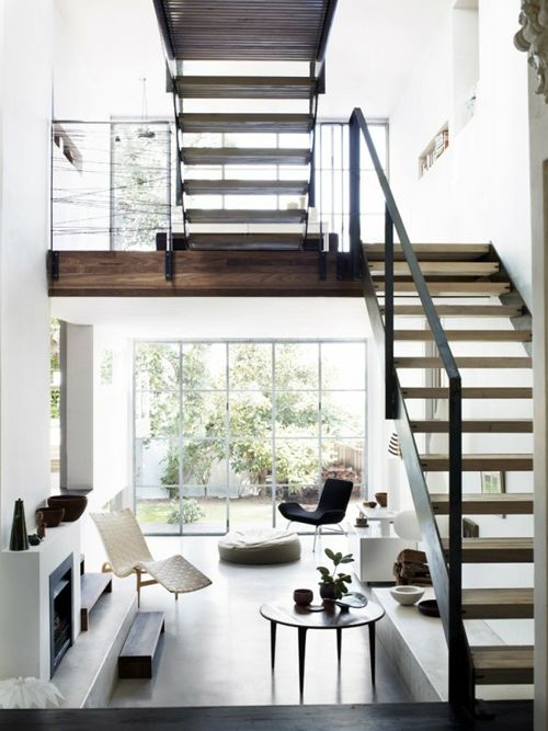 black, white and wood.  photo by prue ruscoe.