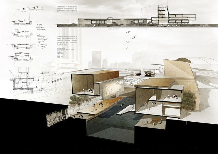 architecture posters layout - Google Search