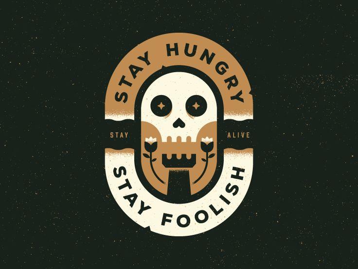 Stay Hungry by Trey Ingram #Design Popular #Dribbble #shots