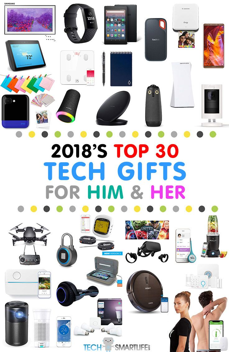 Best Tech Gifts 2018 Are Here Shopping For Tech Gadgets Can Be A Bit Intimidating Especially If You Re Not A Techie Top Tech Gifts Cool Tech Gifts Tech Gifts