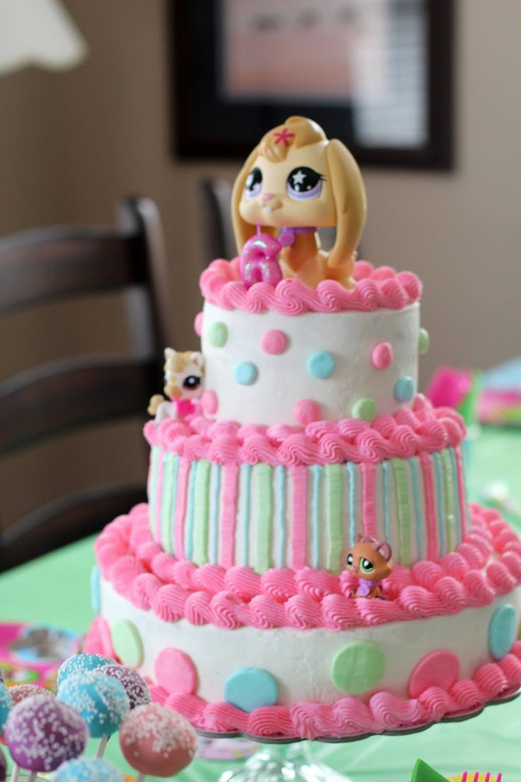 Say It Sweetly: A Littlest Pet Shop Birthday Cake-- November 20, 2011