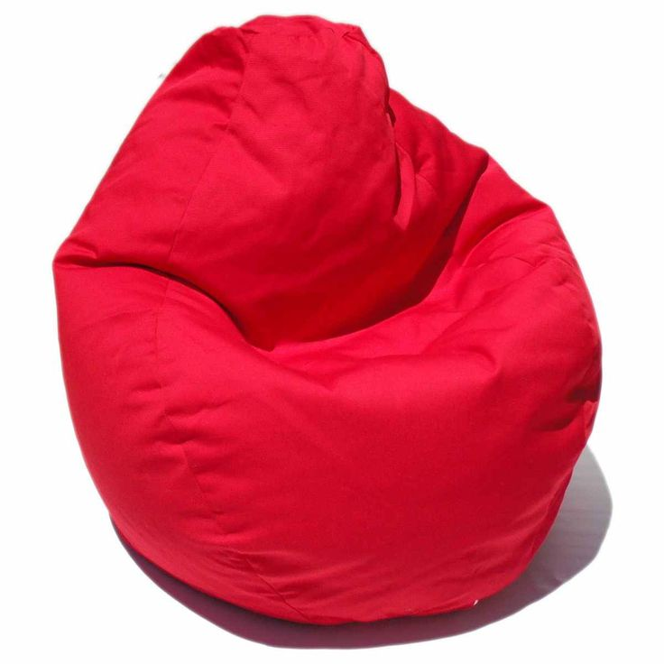 Bedroom with Red Bean Bag Chair - http://www.mybarnacles.com/bedroom-with-red-bean-bag-chair/ : #BeanBags If you have a teenager who is crazy about the color red, consider using as a theme for decorating your bedroom. Make room in your teen a space that is proud to call your own and show your friends by choosing a shade of red or by incorporating a combination of bold and subtle colors in your room...