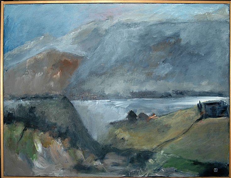 Bjarne Hansen - akryl 60 x 80 cm.