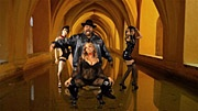 """""""Careful What You Wish For"""" video shoot ft Sir Mix A Lot. Styling by Erin Antos"""