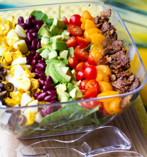 Vegan Cobb Salad #vegan