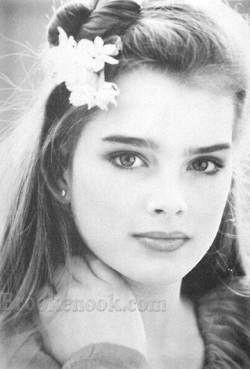 Brooke Shields (gorgeous then and gorgeous now