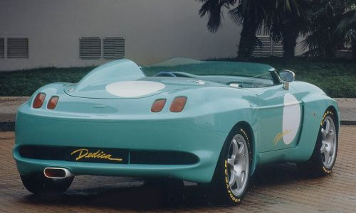 Stola Dedica Fiat Barchetta 1995.  The Fiat Barchetta Dedica by Stola have 2 litre 16V turbo engine from Fiat Coupe with 262 bhp, total weight 1020 kg, acceleration 0-100 km/h in 5.8 seconds and topspeed of 270 km/h