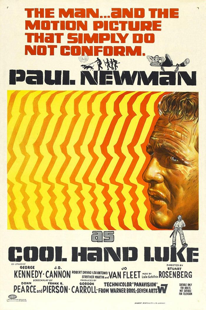 A man refuses to conform to life in a rural prison. Director: Stuart Rosenberg Actors: Paul Newman, George Kennedy, and Strother Martin Rated: PG Run time: 2h 6m Release date: November 1, 1967 Parental Advisory Tickets are $5.00 and can be purchased at the Saenger Box Office only. Box Office Hours are Monday through Friday, 10:00 a.m.- 4:30 p.m. The Box Office will open an hour before showtime, but we recommend purchasing beforehand to avoid line waiting.