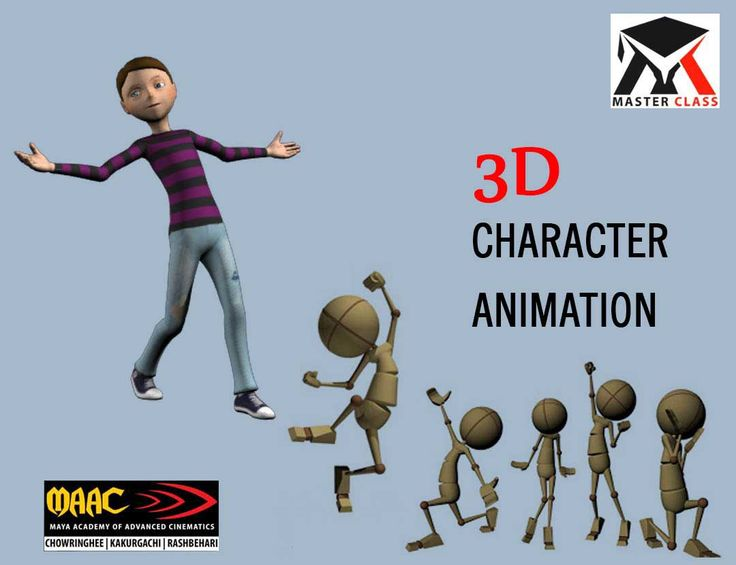 Free Master Class on 3D Character Animation