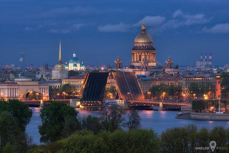 Над разведенными мостами - Петербургский Фотографический Журнал