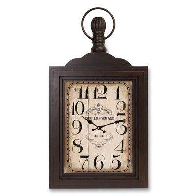 Melrose International Oversized Wall Mount Clock