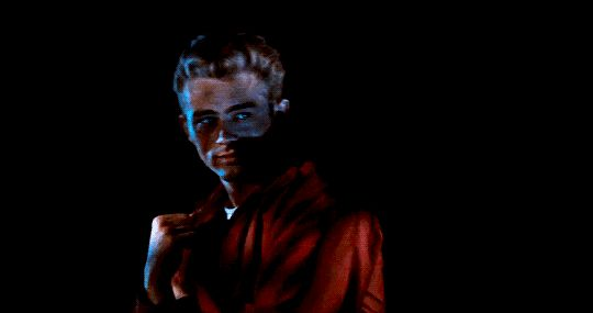 Laura Palmer walks with me (hoechlins:   James Dean in Rebel Without a Cause...)