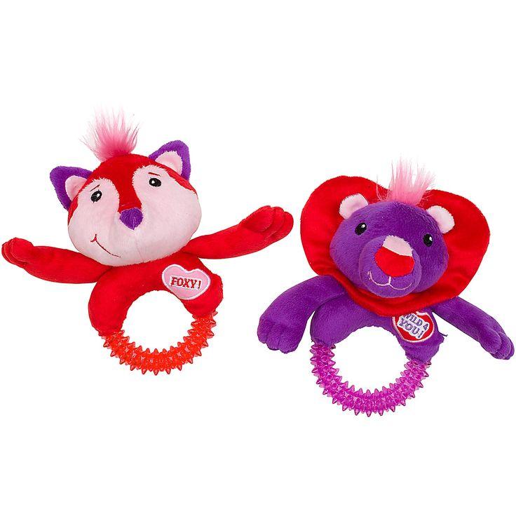 Dog Valentine Toys : Petco valentine fox or lion dog toy my pet dream board