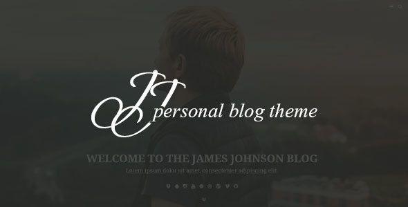 JJ BLOG - Personal Blog WordPress Theme (Personal) - http://creativewordpresstheme.com/jj-blog-personal-blog-wordpress-theme-personal/
